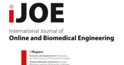 Vol 16, No 02 (2020). International Journal of Online and Biomedical Engineering (iJOE)  #elearning #BigData #machinelearning #engineering #ingeniería #biomédica #biomedical #AI #IA #inteligenciaartificial #artificialIntelligence #technology