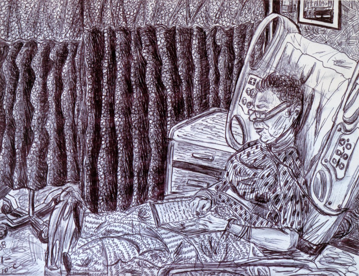 Intimate Drawings of Nursing Home Residents Are More Poignant ThanEver https://www.artnews.com/gallery/art-news/photos/michelangelo-lovelace-drawings-nursing-homes-fort-gansevoort-1202688183/… via @ARTNEWS pic.twitter.com/ZX6qJhqgWS