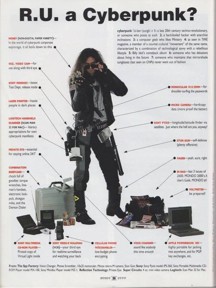 Cyberpunks de los 90 #humor #RD | por @Alvy https://t.co/HJDnlQKa83 https://t.co/qHI5UZnzt3