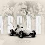 Today we remember our first world champion, Alberto Ascari, 65 years on from that sad day at Monza ❤️  #essereFerrari 🔴