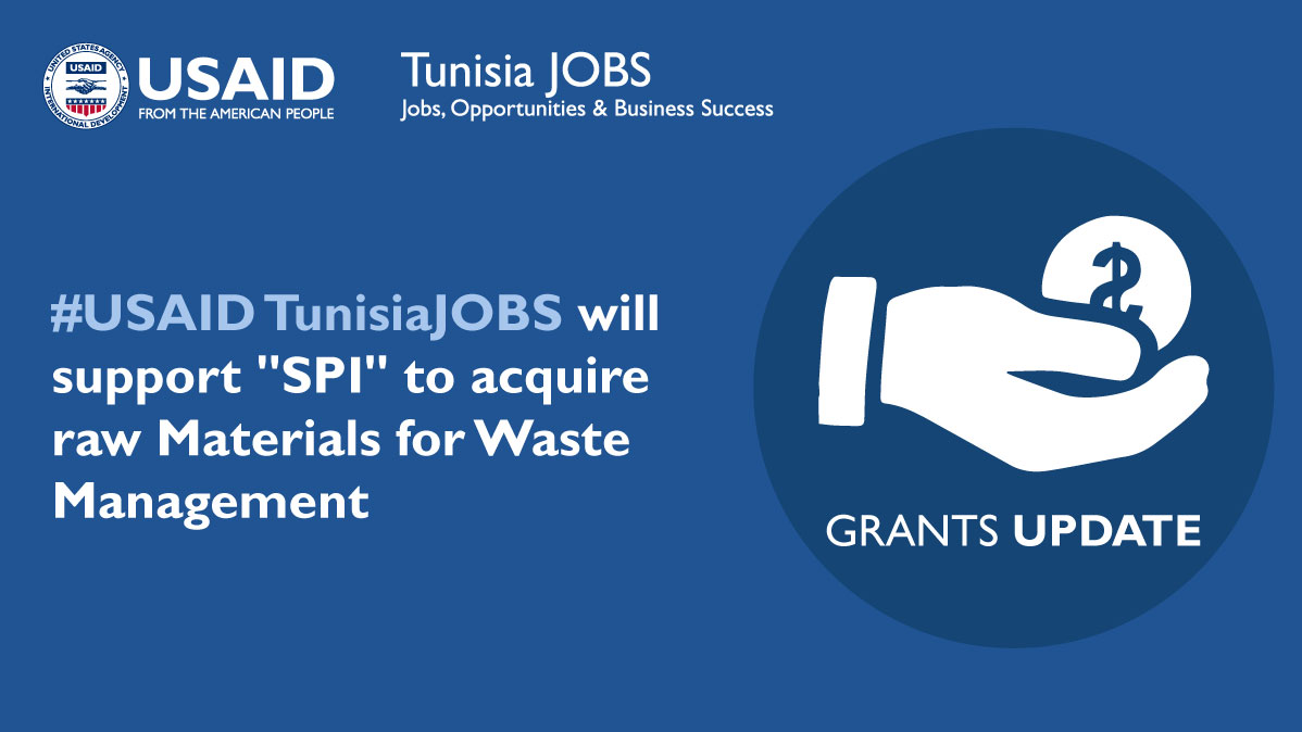 #USAID #TunisiaJOBS #Covid_19  #Tunisia