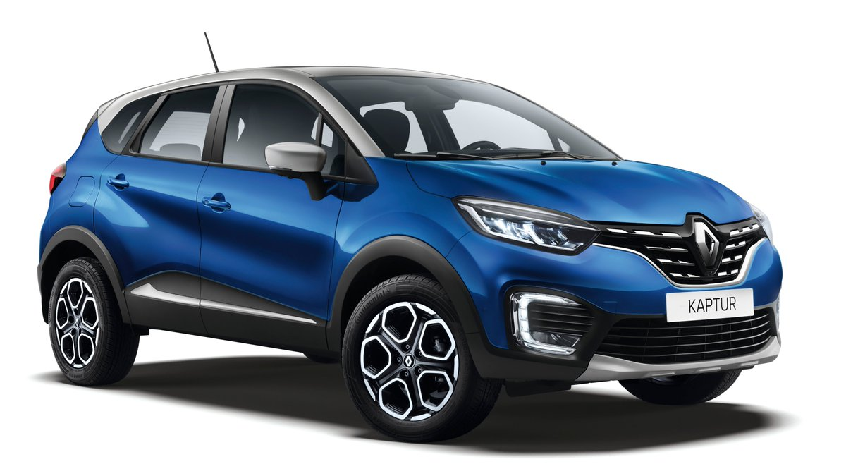 #Renault New Kaptur revealed in Russia    Updated exterior and completely revised interior with a new level of quality and ergonomics   Renault Kaptur is fitted with a TCe 150 turbocharged petrol engine mated to a new generation X-Tronic. pic.twitter.com/esoIMoMfcV