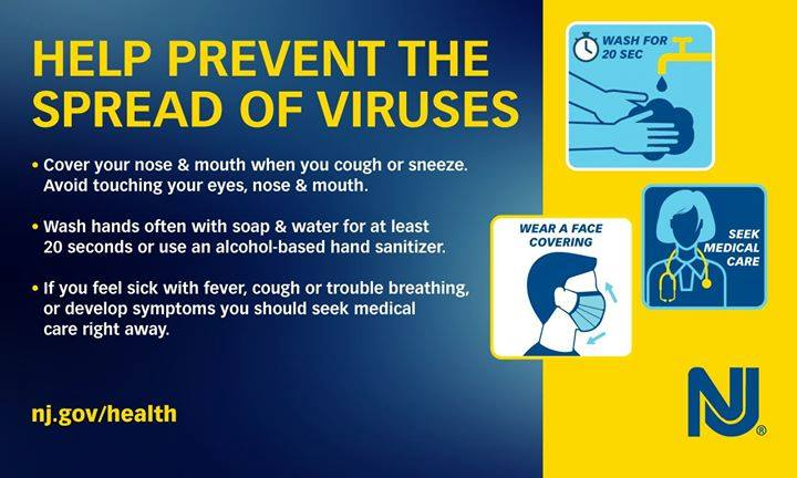 Be aware! Wash with care   Cover your nose & mouth  Wash your hands (at least 20 seconds) More Info on How We're Protecting You: https://www.njtransit.com/covid19 pic.twitter.com/G4wSrn00Tw