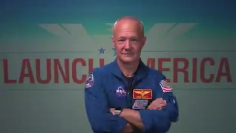 .@Astro_Doug = Crew Dragon commander for the #LaunchAmerica mission