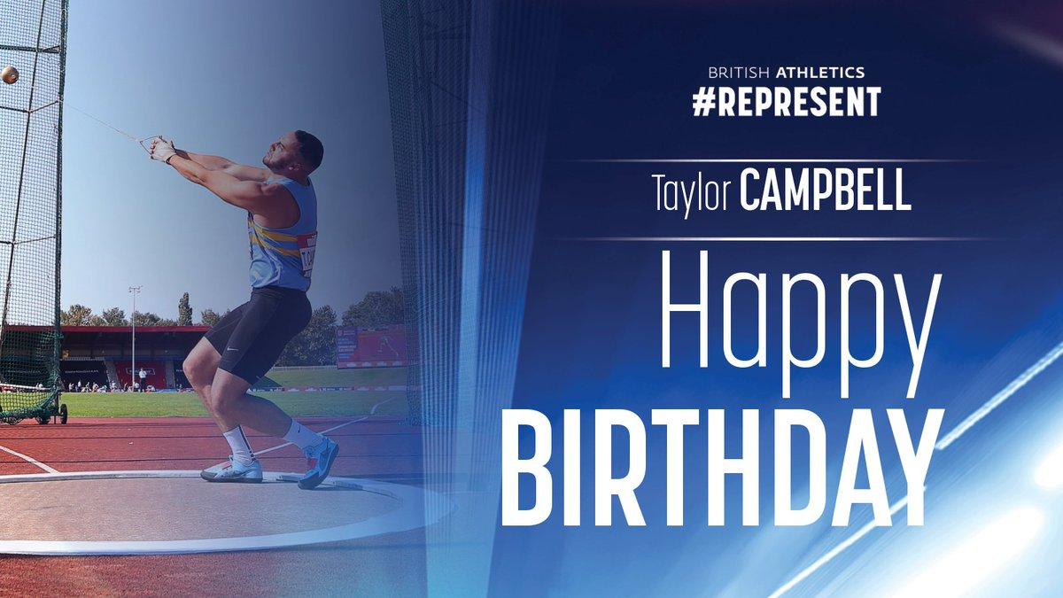 🎉 World Student Games hammer 🥉 medallist and @GC2018 finalist @TaylorLC1996 celebrates his birthday today! Happy Birthday, Taylor! 🎉