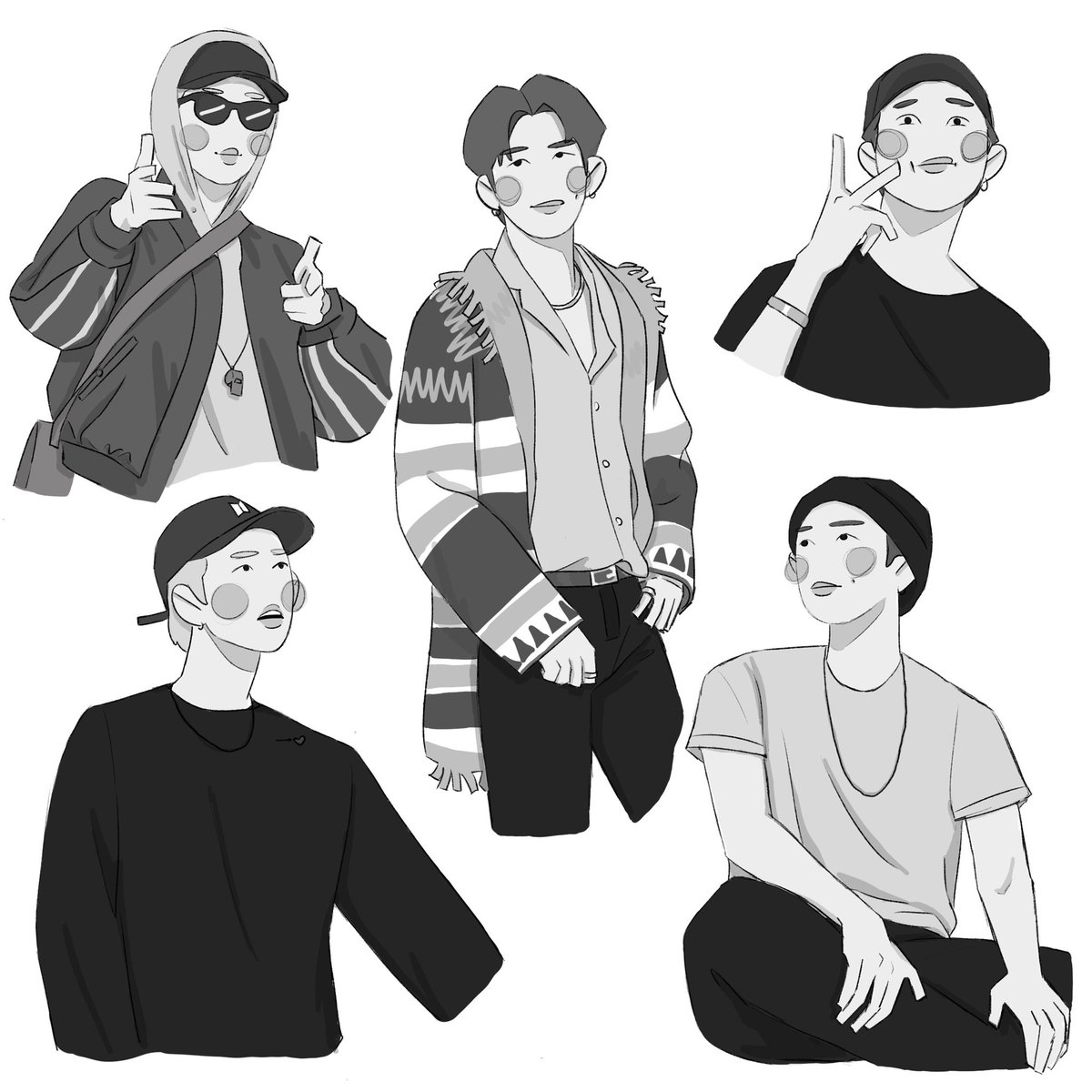 Day 1 of drawing images from my bookmarks— Namjoon edition  #btsfanart #bts #rm #NAMJOONpic.twitter.com/dlQ61tM6Va