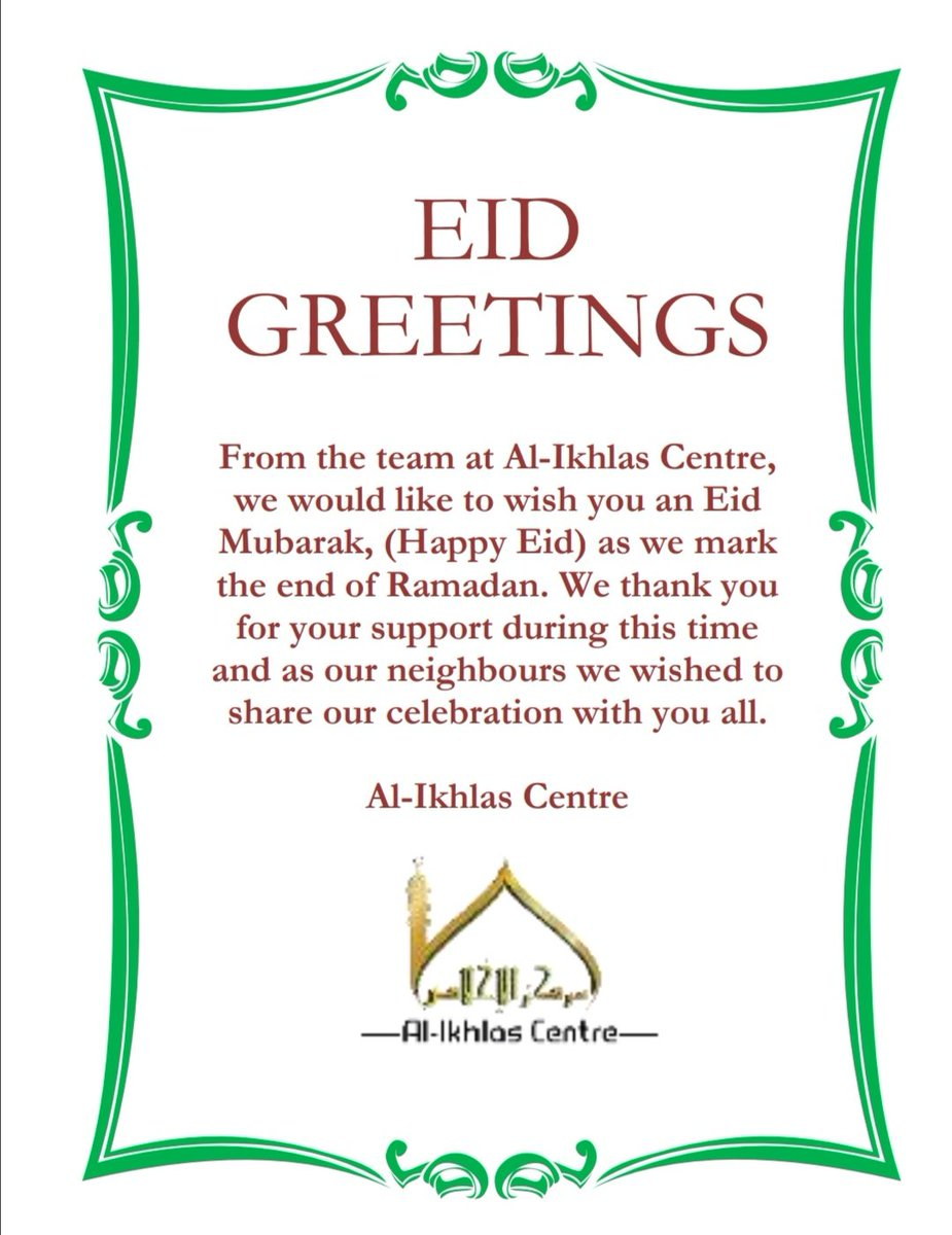 As we celebrated a different Eid ul Fitr this year with the lockdown, we wanted to share our special day with our neighbours. Our team hand delivered a small Eid treat to cheer them up during this difficult time.  #lockdown #EidAlFitr #EidMubarak #StayHomeSaveLives #Neighbourspic.twitter.com/g37bgNKXb0