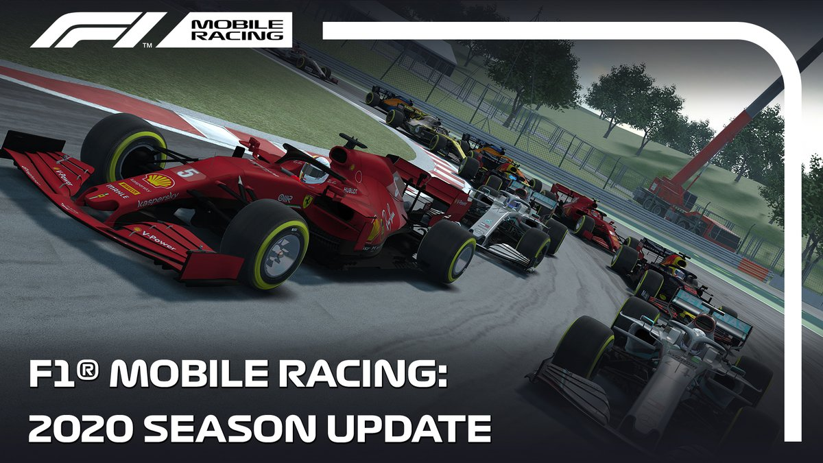 It's here! The 2020 Season Update for F1® Mobile Racing is live, with the official @F1 cars, drivers, helmets, and Circuit Zandvoort! 🏁   Download the official free-to-play #F1 mobile game now ⬇   Android: https://t.co/KqAMP56K6M  iOS: https://t.co/TSSBiMRdUm