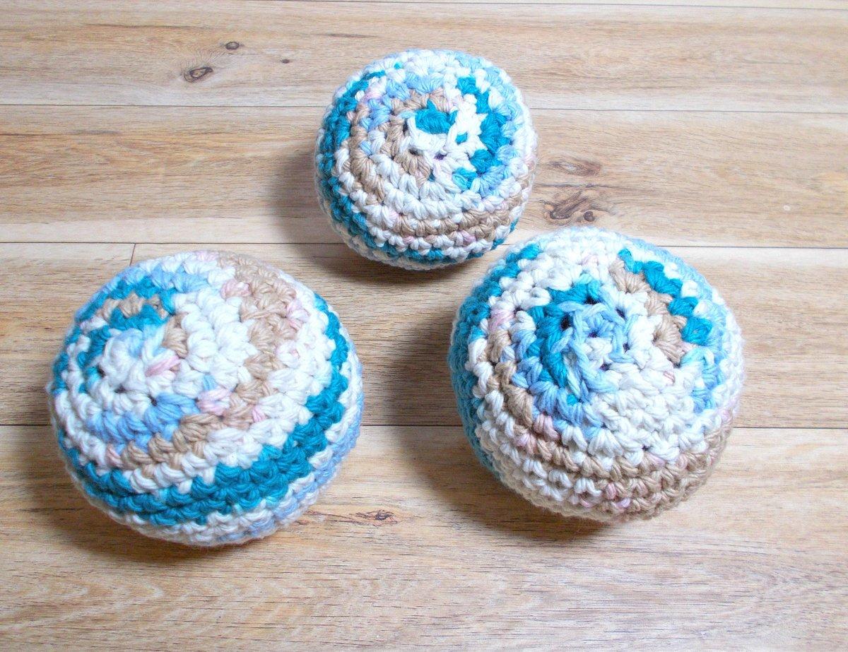 Excited to share the latest addition to my #etsy shop: Cotton Dryer balls, Laundry Supplies , Home & Living  #beige #blue #ecofriendly #zerowaste #homeandliving #laundryballs #setofthree #handmadeincanada #dryerballs