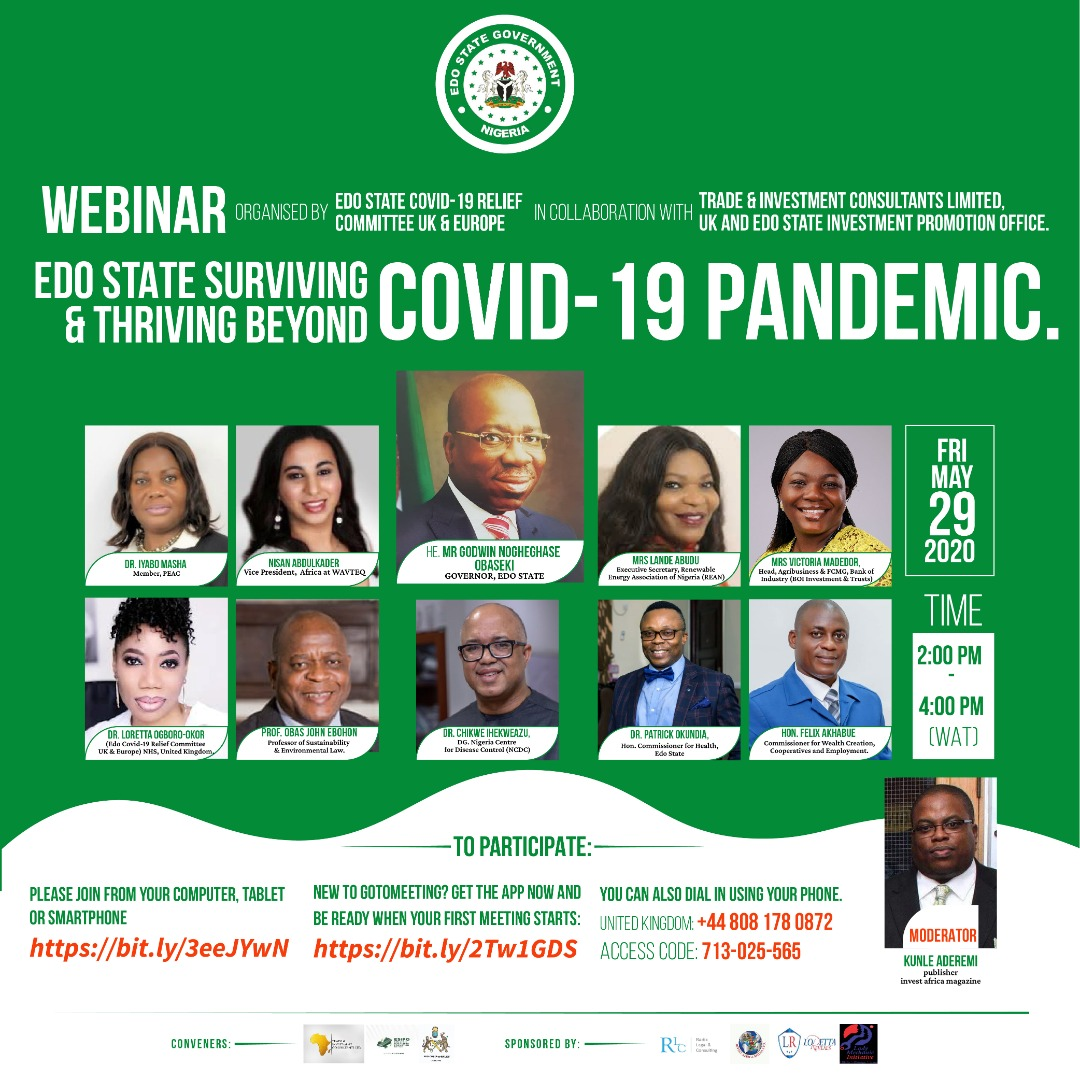 #Agriculture & #Agribusiness is a major sector the Governor of Edo state is focusing on to survive and thrive through & beyond the era of #Covid19 pandemic. @S4AfricaSMEs  @segalink  @Agro_Centre  @AGRAAlliance  @CorpFarmersTV  @MyfarmBase  @institute_amn  @makinwaoluwolepic.twitter.com/DdVZCNFojV