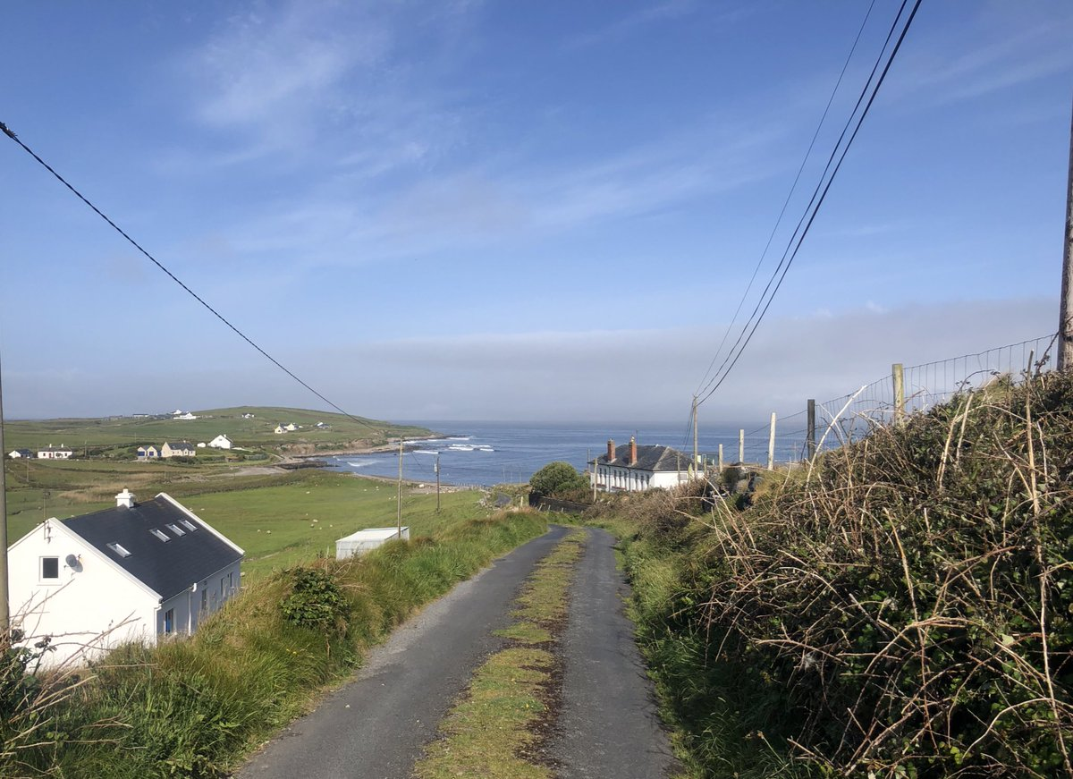 No #CV19 deaths yesterday. Isn't that wonderful news! This view on my walk this morning seems to encapsulate a feeling of hope and optimism that feels right for today! West #Mayo 26th May 2020 #CV19pic.twitter.com/g6xdLcK6nz