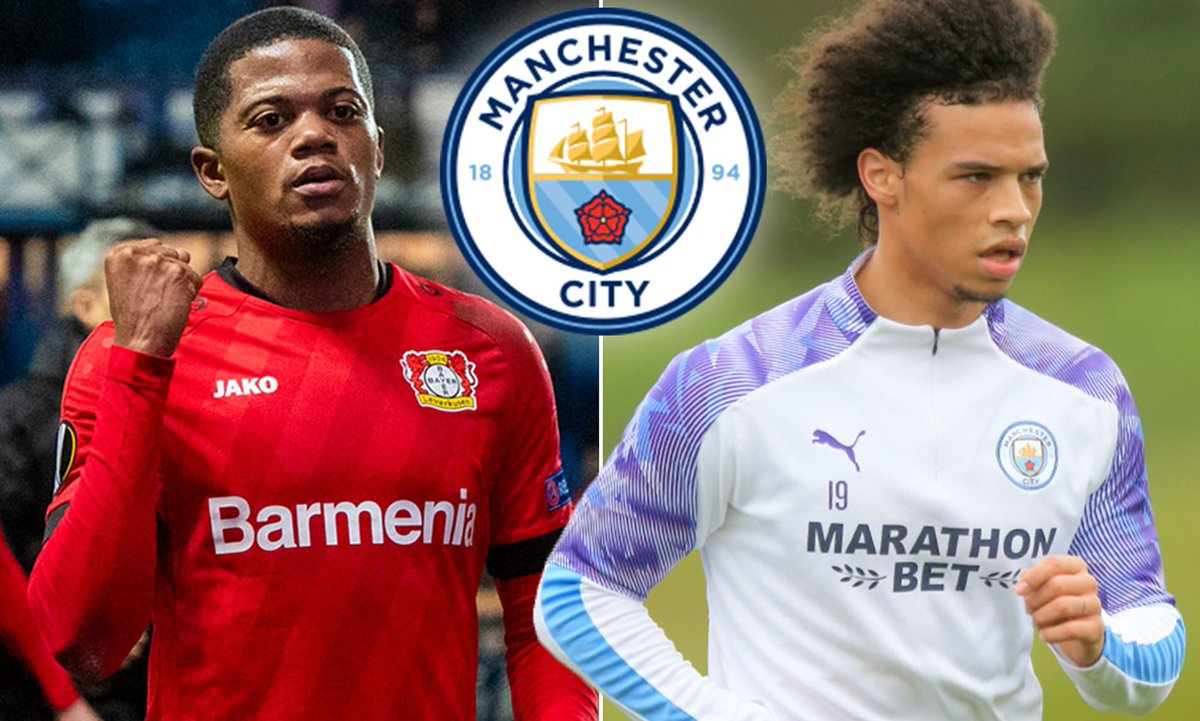 Manchester City are looking at Bayer Leverkusen winger Leon Bailey as a replacement for Leroy Sané. Bayern Munich have long sought-after Sané and the Bundesliga leaders are hoping to conclude a deal this summer. (Source: Daily Mail)
