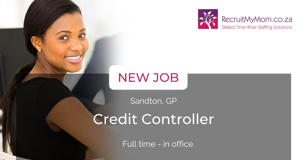 #NewJobAlert #NowHiring : Credit Controller (Full time in - office) - Sandton, GP. Leading technology distribution firm needs a credit controller with a minimum of 4 years of experience as a credit controller in the retail sector. R25k pm. Apply >> http://ow.ly/8DZn50zPYZ1 pic.twitter.com/oV44bIiEeL