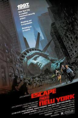 #MovieTime  Escape from New York (1981) This film didn't age well since in 1997 America isn't a police state and New York ain't no prison. <br>http://pic.twitter.com/qOrxWCJXPh