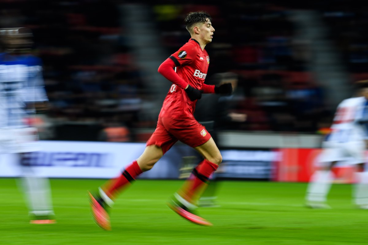 How highly do you rate Kai Havertz? 💫  #UEL https://t.co/m1HBhZwoWN