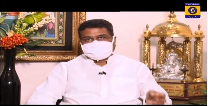 PM Shri @narendramodi under #AtmaNirbharBharatAbhiyan is taking all steps to convert the challenges posed by #COVID19Pandemic into opportunities. Accordingly the Government is taking proactive steps to strengthen all Sectors,says @dpradhanbjp while interacting with @DDOdiaNews