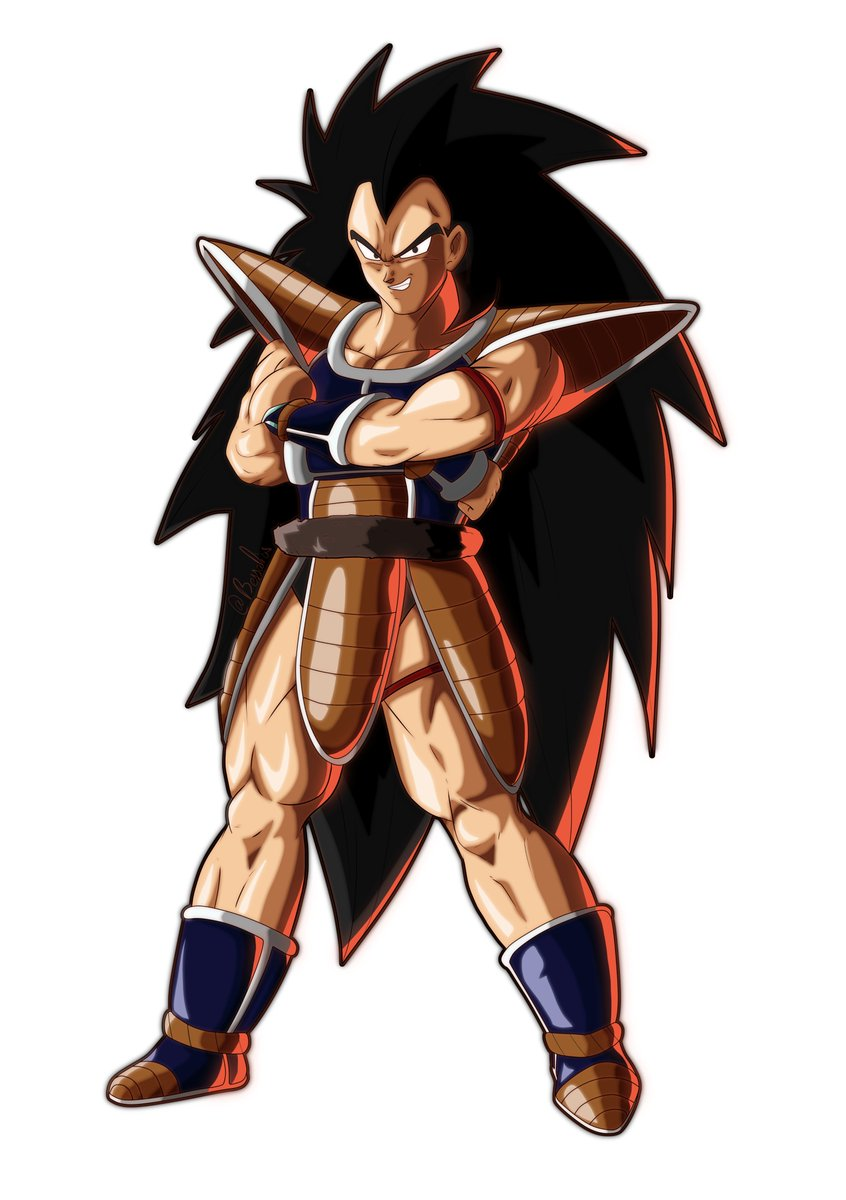 Okay but for real tho, can we get Radditz in #FighterZ  First piece of art on my resurrected computer 😤 https://t.co/QlMurFBtUj