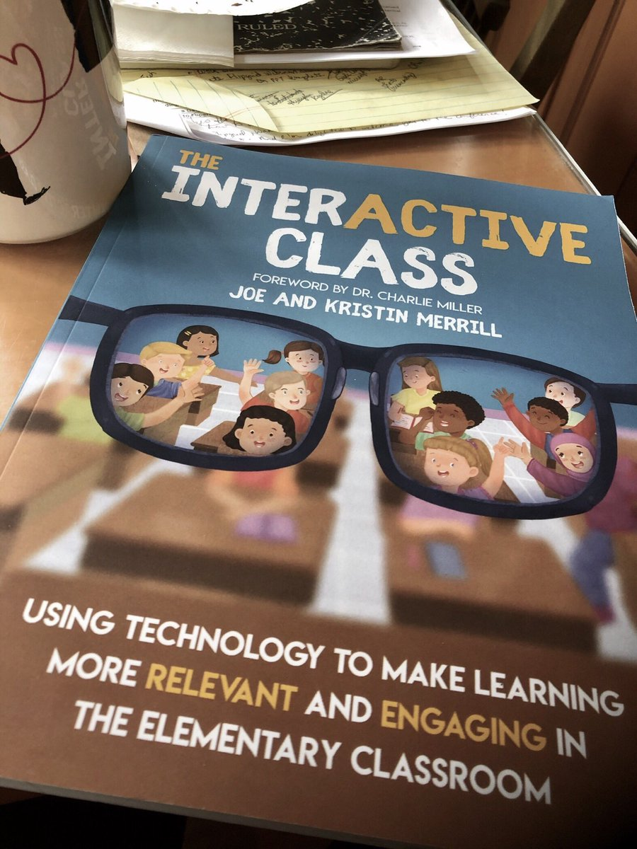 Catching up on my #eduducttape episodes and am now excited to read @MrMerrillsClass @FriendsinFourth new book! I've never used Apple Clips but since it's their fav, I'm going to give it a try this week! ❤️ the @Flipgrid summaries in the book! Thanks @JakeMillerTech! #molloyedtech