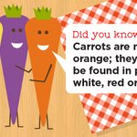 Image for the Tweet beginning: #DYK, a carrot is 80%