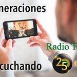 Image for the Tweet beginning: Siempre música, siempre CONTIGO #RadioTaoro25años
