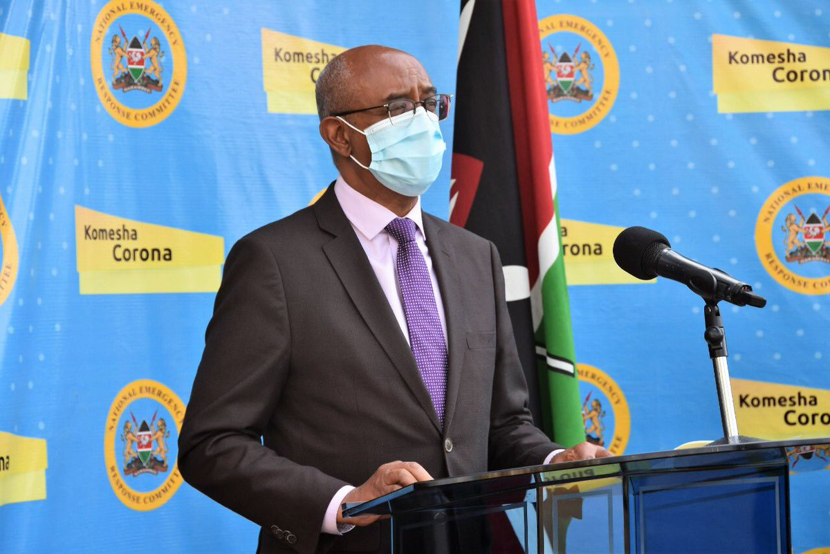 We're appealing to Kenyans in high risk areas to come forward & be tested. The cost of testing, quarantine, isolation & treatment in a Government facility will be met by the Government. Any information to the contrary is false & is aimed at misleading Kenyans. #KomeshaCorona