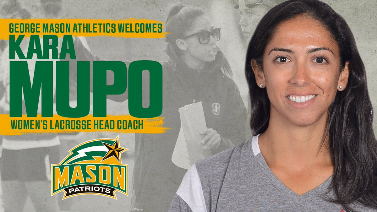 We are thrilled to welcome Kara Mupo as the fifth head coach in our program's history!   Two-time NCAA Champion  Two-time WPLL scoring leader  Former asst at Stony Brook, Stanford & Ohio St  Helped coach nation's top offense at Stony Brook  Story: http://bit.ly/3giQmoFpic.twitter.com/D96vaF1x8G