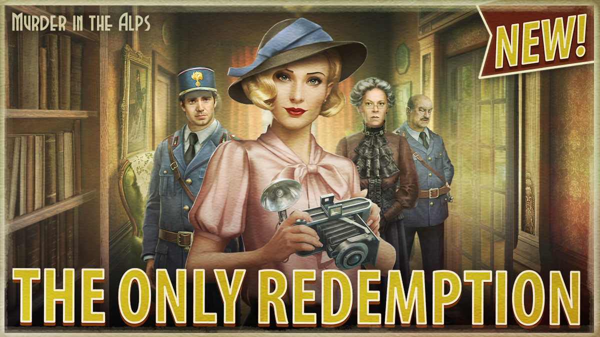 """New Murder in the Alps chapter """"The Only Redemption"""" is available on Android and iOS! https://t.co/IsbqZU4nLM https://t.co/iF1AJemuQM"""