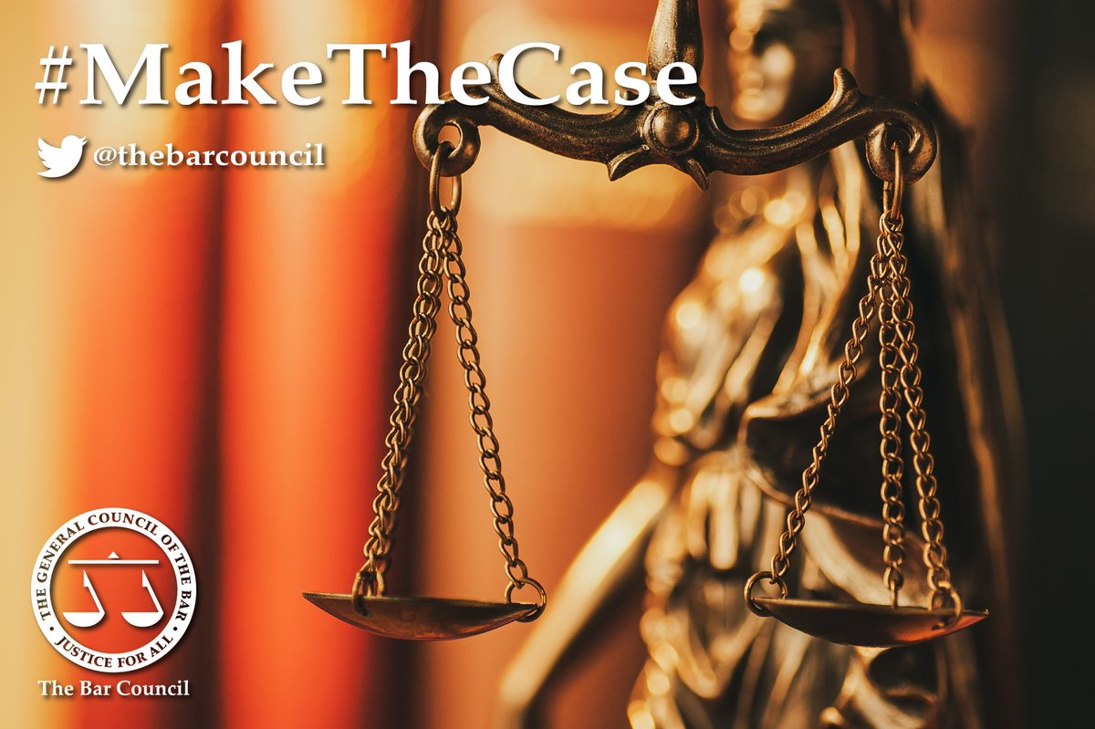 ✅ We continue to #MakeTheCase for the Bar & the justice system to Government. 📝 Thank you to over 200 barristers who have written to their local MP, many of whom have responded. ➡️ Please consider doing so if you haven't already - template letter here barcouncil.org.uk/media-campaign…
