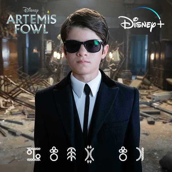 """It's time to suit up!"" 🕶️ @ArtemisFowl is streaming exclusively June 12 on #DisneyPlus."