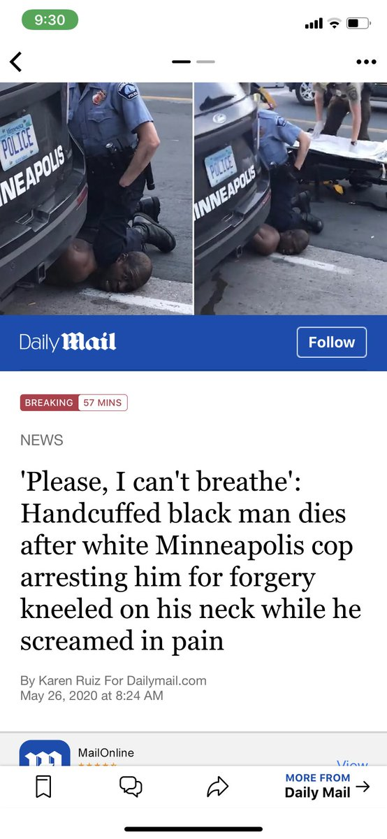 Tired of seeing this shit mane, They killing us off its time for us to make a change and do better they killing us blacks and getting away with it like it's nothing.....BEING BLACK IN AMERICA SHOULDNT BE A DEATH SENTENCE #Retro #viral #justiceforgeorgefloyd pic.twitter.com/j3Coae9fFM