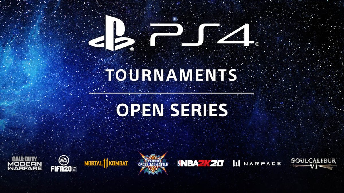 PS4 Tournaments: Open Series — Starting June 1, compete in participating titles for a shot at rewards like PS4 themes, avatars, and cash prizes. Details: https://t.co/fy0aQo8b3H https://t.co/8VpoMrL67t