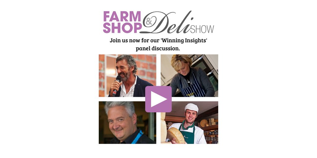 Did you miss the live stream? Don't worry!  Watch and listen as @FarmShop_Deli host Richard Fox talks to award winning experts: Butcher Debbie Edge; Deli owner Anthony Johns and Cheesemonger Andy Swinscoe about the impact of Covid-19 on their businesses.