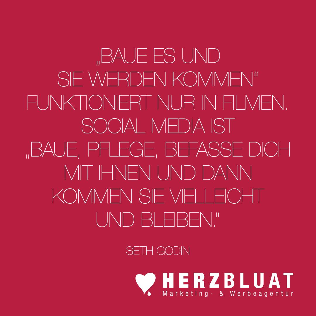 Ist Marketing seit Social-Media komplett neu? Nein, es wurde nur um einen Kanal ergänzt. Targeting und Erfolgskontrolle funktionieren hervorragend. ❣️😉   #herzbluat #strategie #konzept #kampagne #marketingagentur #werbeagentur #salzburg #agentur #marketing
