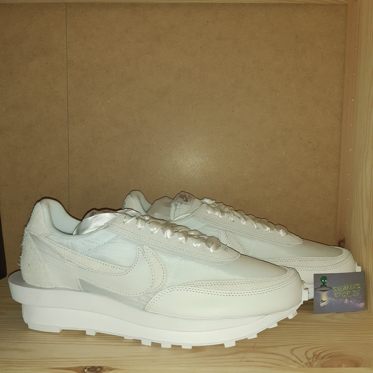 WTS #Nikesacai LD WAFFLE WHITE NYLON  TG 11 MEETUP #Milan or #shipping  Price 270€ Cop with @hype_cook @Ghidosneakersh1pic.twitter.com/1CZaQszQUx