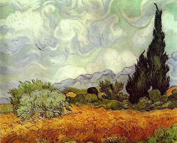 #haikai #haiku #poesia #poetry #escritor #writer #WritingCommunity #ComunidadeLiteraria #HaikuChallenge  I hate the #heat so That I want to kill myself When I can't keep cool  Painting: Wheat Field with Cypresses (Vincent Van Gogh)pic.twitter.com/p8DNxxAHeR