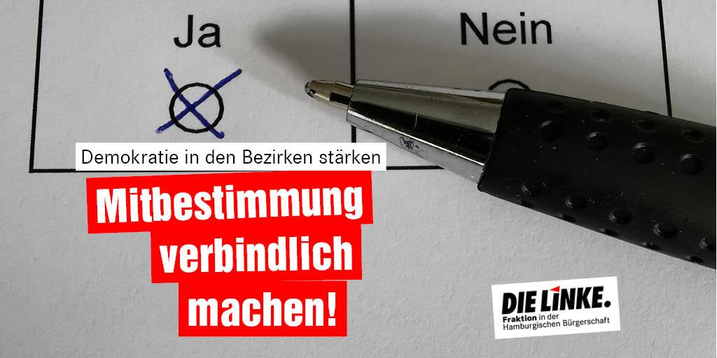 #Bürgerbegehren und - entscheide werden vom @Senat_Hamburg immer wieder ausgehebelt. Wir beantragen morgen in der #hhbue: Forderungen der #Volksinitiative Bürgerbegehren verbindlich machen umsetzen! #Demokratie #Hamburg 📄Unser Antrag: bit.ly/3d4FVmB