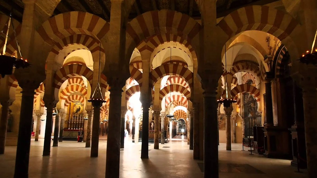 That's tremendous to read... #GrreatStuff...  I know the #Mezquita very well... One of my #FavouriteTrainJournies is from #Madrid to #Sevilla on the #AVE and then #OnwardBound to #Cordoba... | I can't #Recommend it more #Highly... | pic.twitter.com/bsJo4XlP40