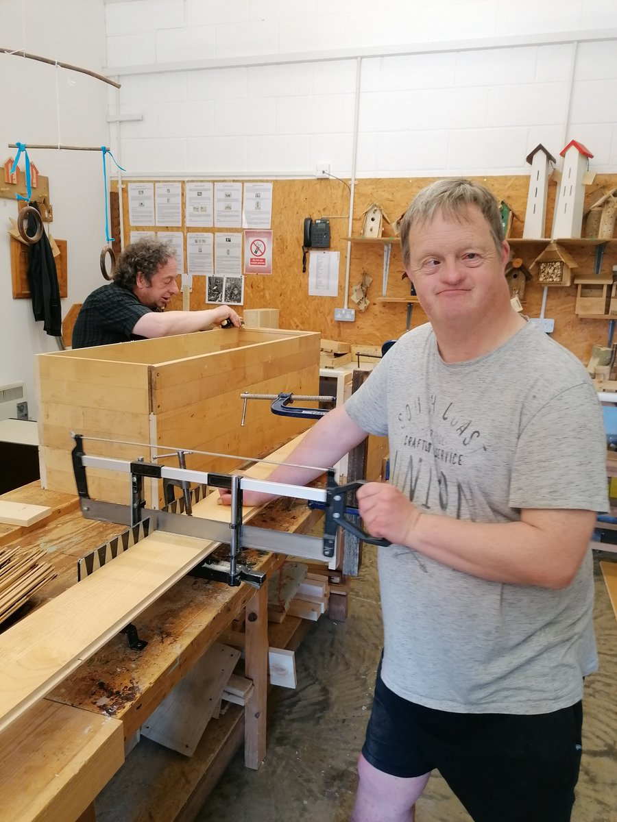 The new chicken houses are coming along nicely. Great #independent work from Simon and James. The chickens will never have had it so good !  Could you find your new skill at Thornage Hall ?  http://ow.ly/1XN150zLDON pic.twitter.com/35zMNYNux1