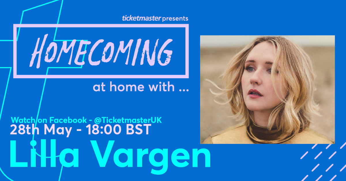 HOMECOMING – At Home With… @lillavargen 😍 Go on a house tour with the Northern Irish singer from 18:00 (BST) on Thursday 28 May 2020 >>   All in aid of @musicvenuetrust, @HelpMusiciansUK, #CrewNation and more. Donate here >>
