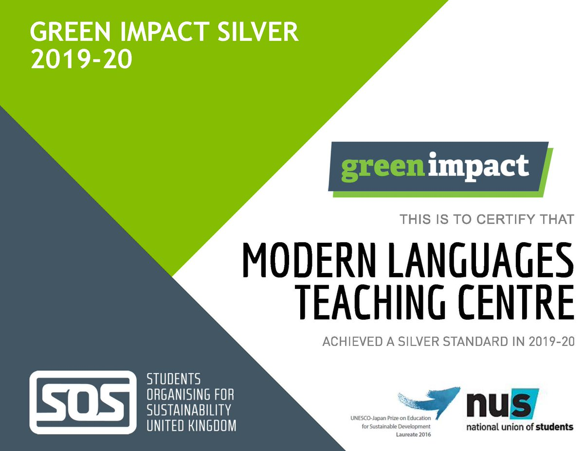 We are pleased to announce that the MLTC have been awarded a silver standard for our green impact projects this year. Many thanks to everyone who contributed or supported our projects. @WoodlandTrust @efm_online @Sheffunisustain