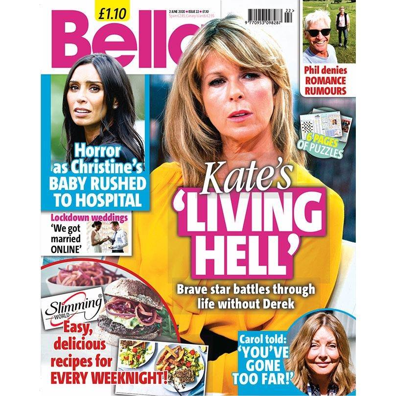 Your brand new issue of Bella is on sale now! Packed full of the latest celebrity news, real life stories, puzzles and much more. pic.twitter.com/3pziRCBpfD