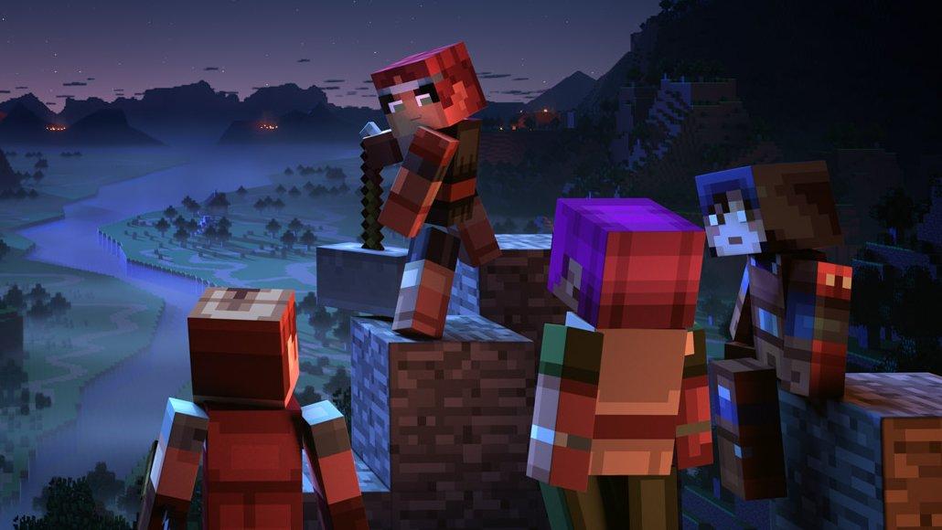 #MinecraftDungeons
