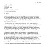 Image for the Tweet beginning: This letter is very powerful:
