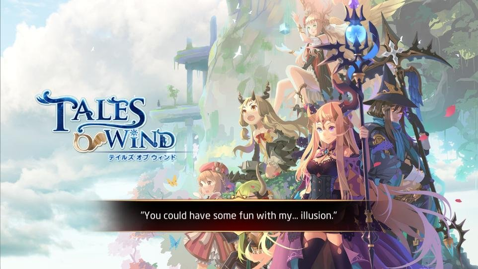 #Tales Of Wind# Embark on your journey and join adventures together with your friends!<br>http://pic.twitter.com/dlaCFUc9C9