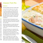 Image for the Tweet beginning: Traditional fish pie is a