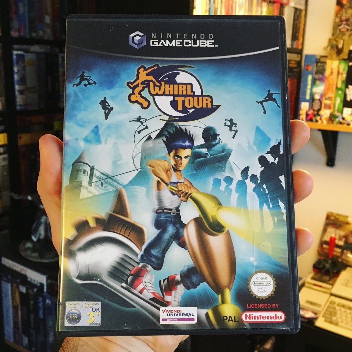 Whirl Tour - Vivendi Universal Games  - GameCube Scooter  Racing Game - 2002/03 #retrogaming #retrogames #retrogamer #scootering #gamer #gaming #whirltour #popculture #nintendogames #nintendogamer #gamecube #nintendogamecube #consolegames #nintendo #videogamespic.twitter.com/pjfVU86d05