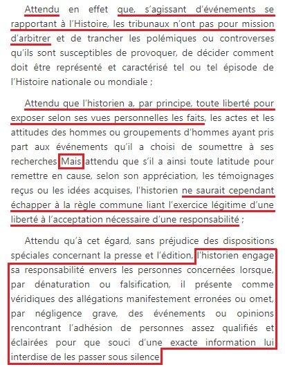@colardemo @MaximeGauin @fatsr_bitdefe Effectivement.   Avant la loi de 2001 qui reconnaît le #Génocide1915, un des attendus du jugement condamnant #BernardLewis est la définition du #négationnisme étendu à ce génocide.  Cfr: https://t.co/iL4DHCpfzt https://t.co/gWoUAumRz4