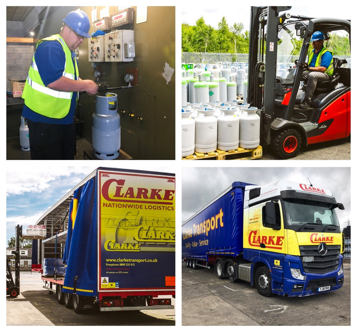 A shout out to all the hard working #HGV drivers and #Transport workers who have been busy making essential deliveries during the lockdown. The team @CLARKETRANSPORT have been safely filling, packing and delivering hazardous freight products to customers. #HaulageHerospic.twitter.com/dikREjPTPU