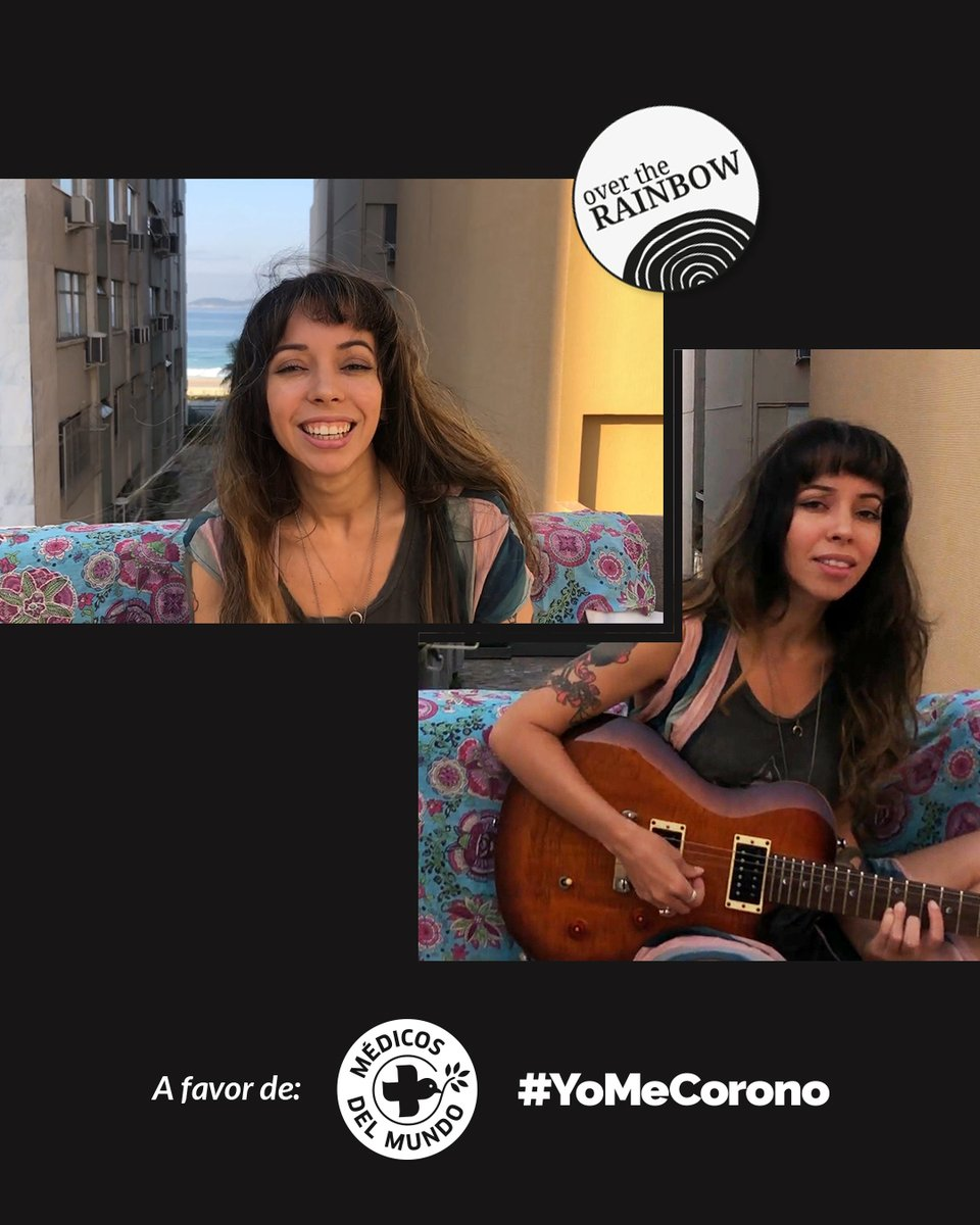 From Rio de Janeiro, the artist Luana collaborates with her beautiful voice on the soundtrack of our campaign #OverTheRainbow, in favor of the fight against Covid-19. You can also contribute to this 100% solidarity project. Discover how at https://www.grandesvinos.com/rainbow/  @luvie.musicpic.twitter.com/Px12x2lEMz