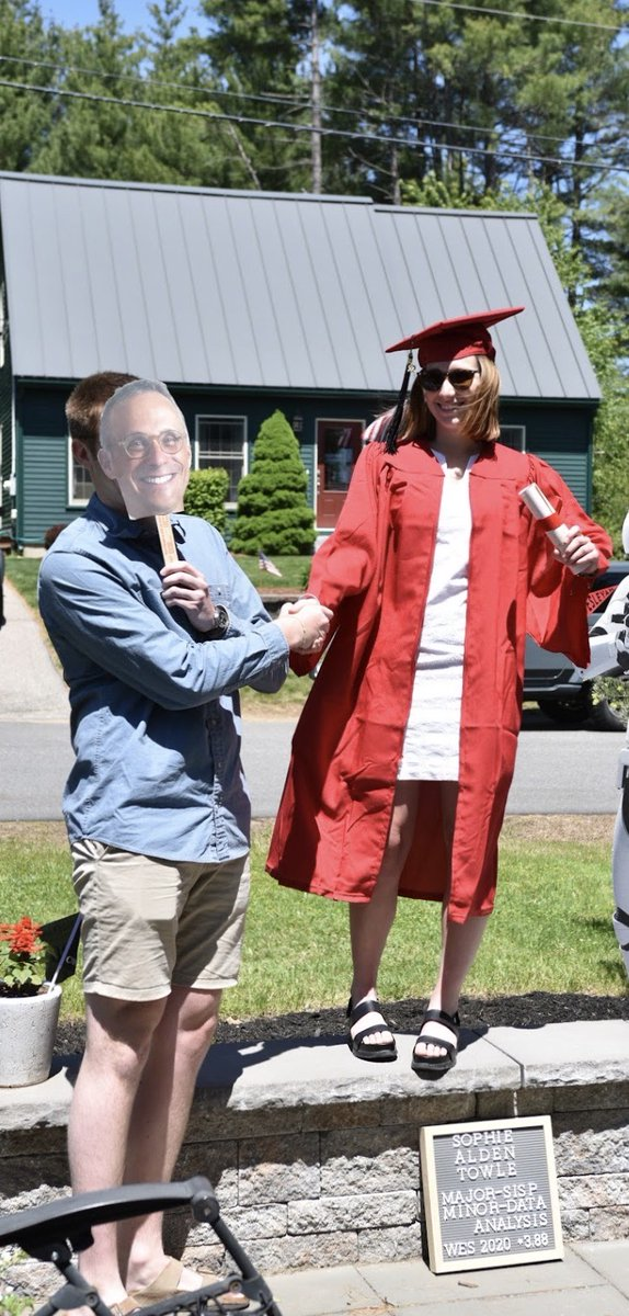 test Twitter Media - RT @mroth78: Congratulations, Sophie! Next year I hope to shake your hand in person! https://t.co/jDeq0IdnKU